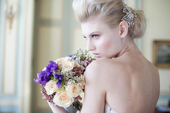 Vintage, Glamorous And Romantic Wedding Hair And Makeup