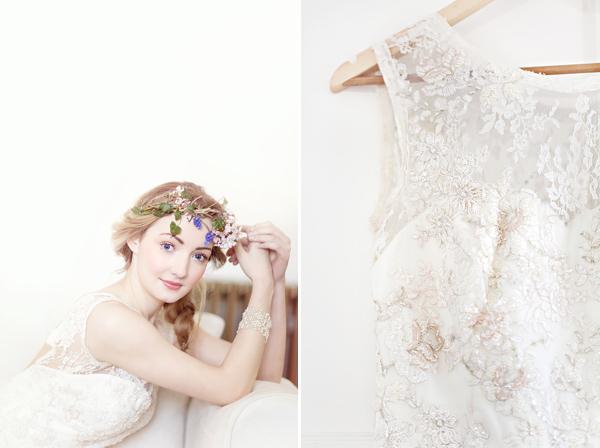 Simple Yet Elegant Wedding Dresses: Whimsical And Romantic Scottish Castle Wedding Inspiration