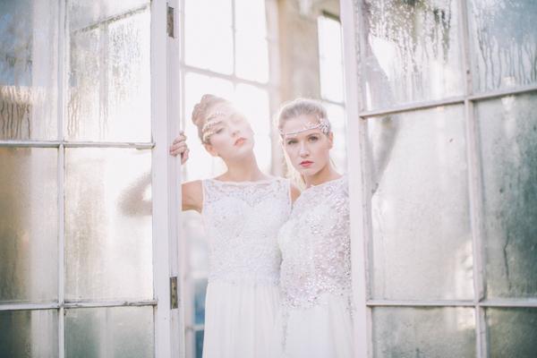 Simple And Glamorous Luxury Bridal Wear
