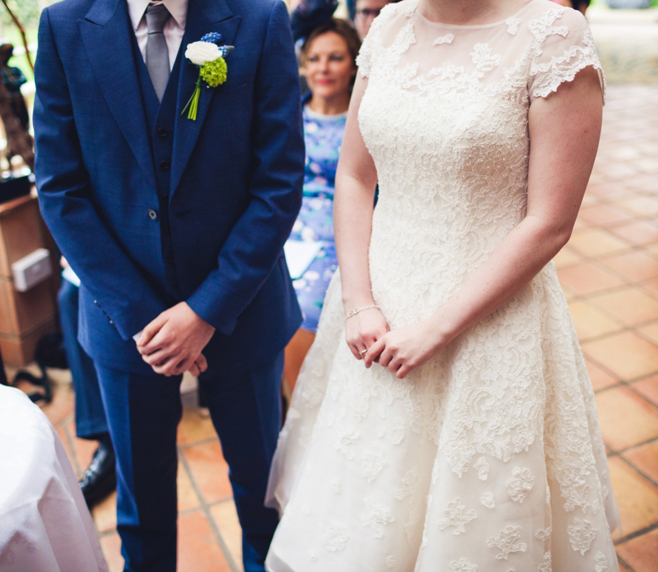 Fun, Fifties Bridal Style For A Relaxed And Informal North