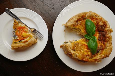 mozzarella taartje 3