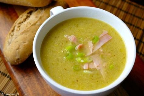 soep met prei en lente ui 4