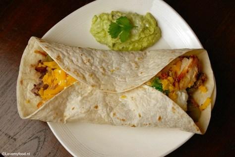 Mexicaanse wraps met kip 4