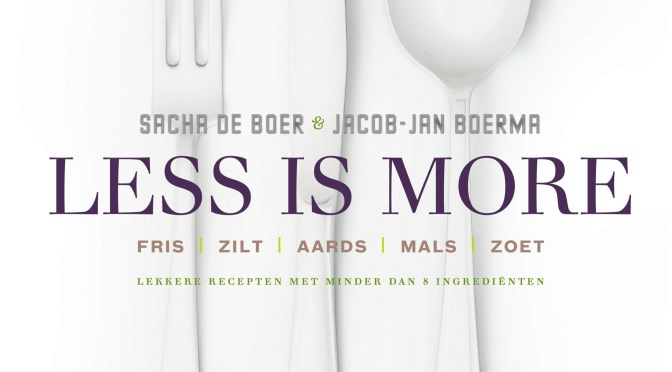 Boek review: Less is More