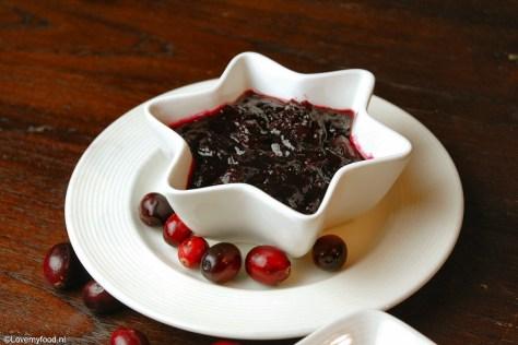 Cranberry saus met rode wijn 3