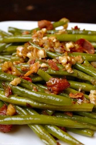 Haricot vers met walnoot en balsamico 2