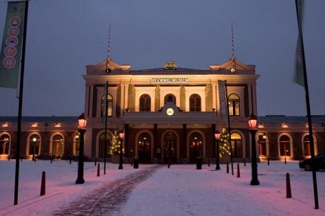 Winterstation - Het Spoorwegmuseum (winactie)