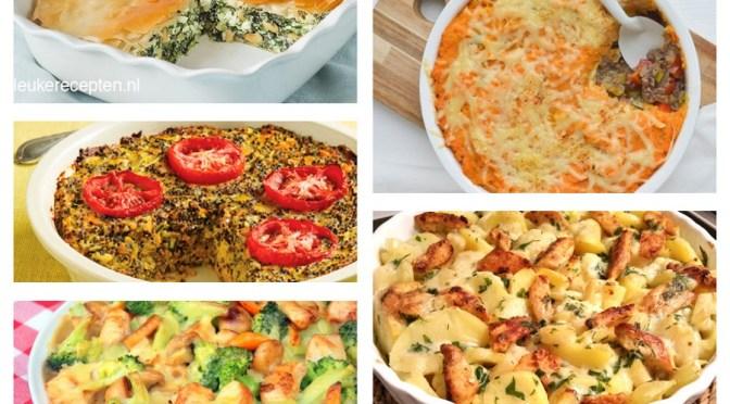 LMF's favorites: 9 lekkere ovenschotels