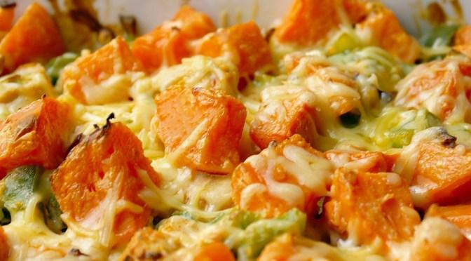 Ovenschotel met kip en zoete aardappel 1