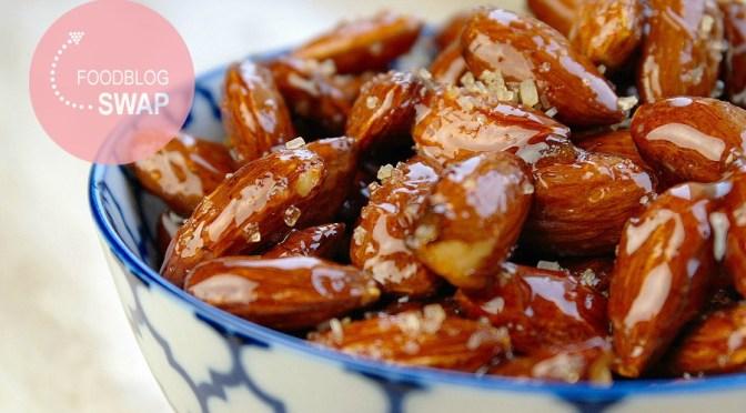 Sweet 'n spicy amandelen met honing
