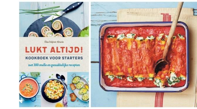 Kookboekrecept: Cannelloni met spinazie en ricotta uit 'Lukt altijd!'
