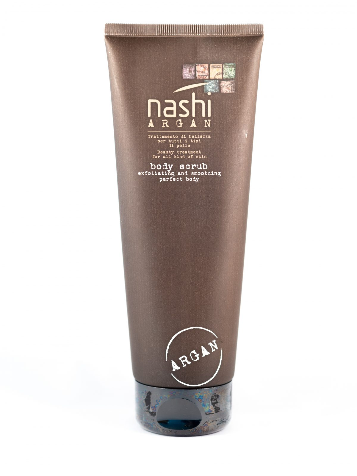 nashi argan body scrub 250 love my hair. Black Bedroom Furniture Sets. Home Design Ideas