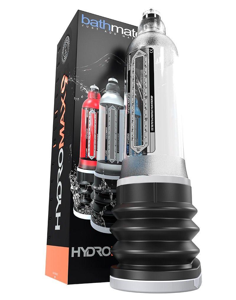 Développeur Hydraulique Bathmate HYDROMAX 9 Transparent