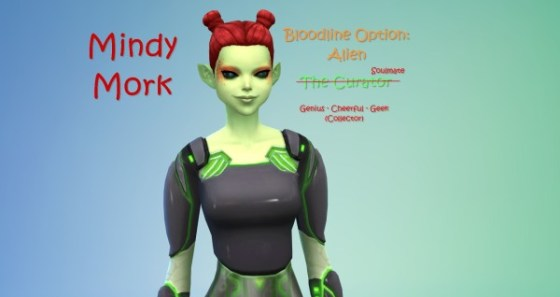 Mindy-Alien