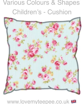 children floral cushions