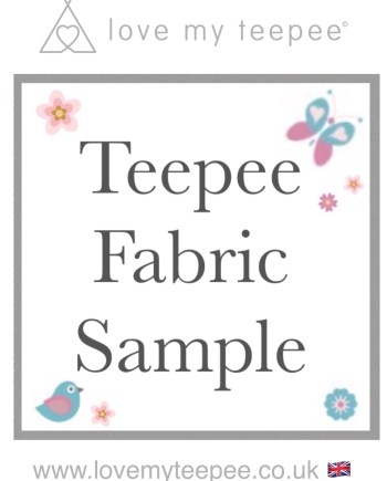 teepee fabric sample order form