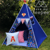 superhero teepee set