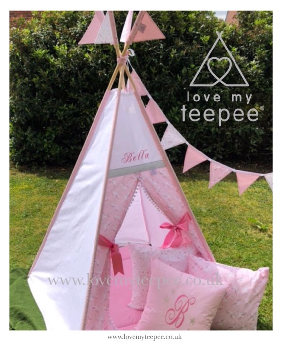 Magical Pink Unicorn Teepee tent