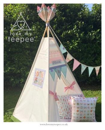 dreamcatcher teepee tent set
