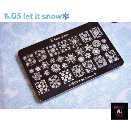 B.05 Let it snow Review