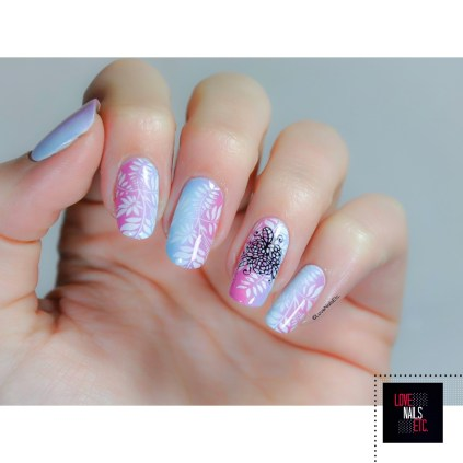 SM Pink & Blue Gradient