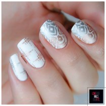 Stamping Master Gold and silver _ Bundle Monster S304 Festival7