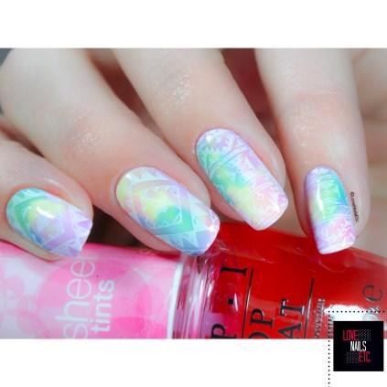 Stamping Master Rainbow - MoYou London Explorer 26