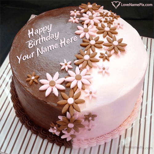 Beautiful Birthday Cake Images With Name Editor Wallpapersharee Com