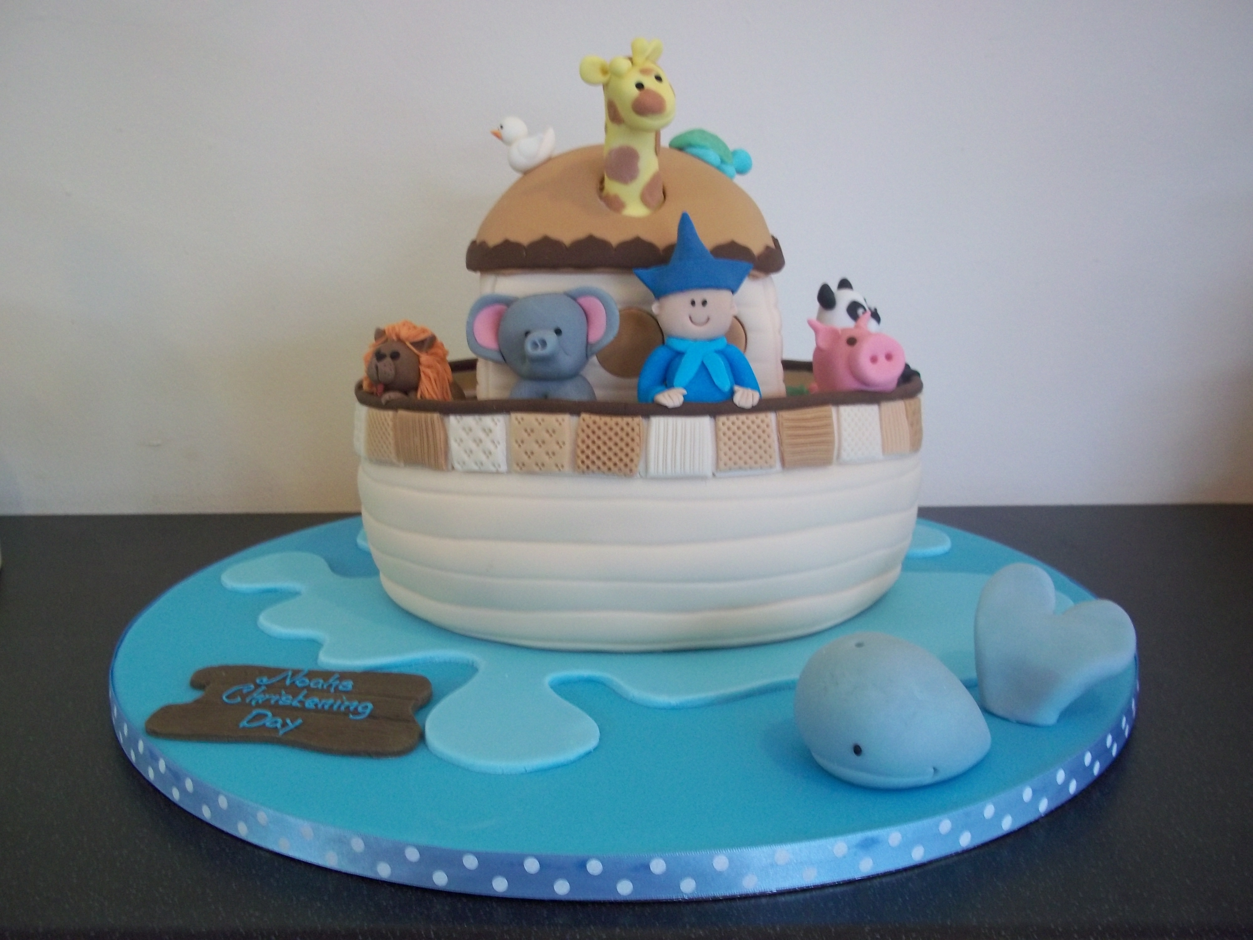 Delicious christening cakes