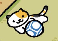 soccer ball neko atsume