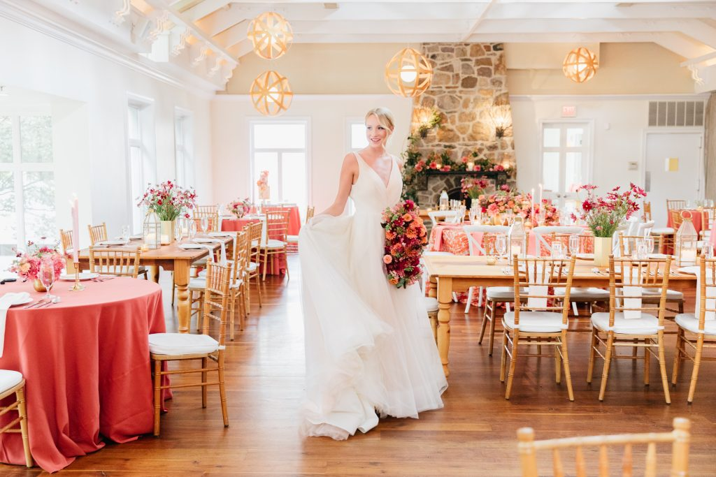 Wedding Inspiration at Pomme in Radnor near Philadelphia