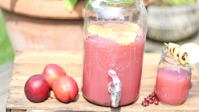 Cranberry – Peach – Water – Mix