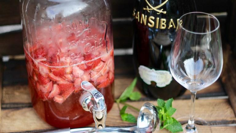 Erdbeerebowle a la Sansibar – Sylt