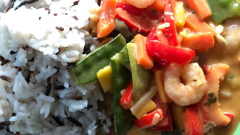 Thai – Garnelen …. ein schnelles Gericht aus dem Thermomix