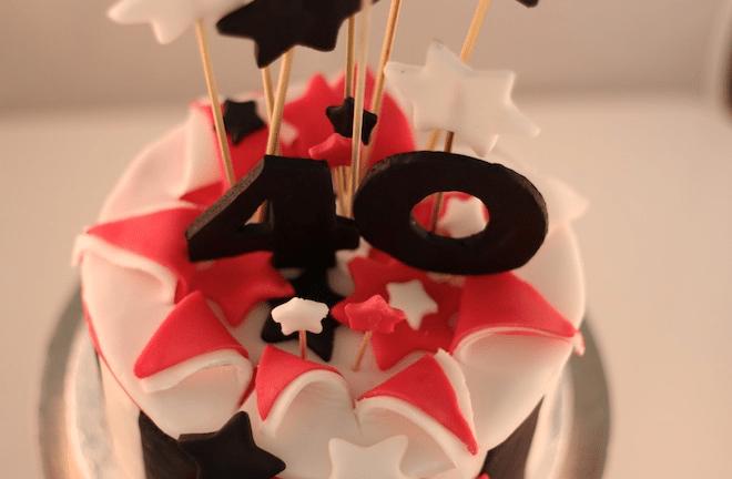 …. noch ein Törtchen zum 40. Geburtstag