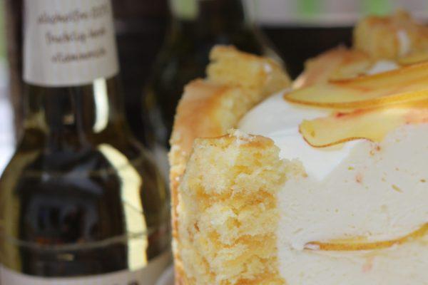 Gaffels Fassbrause – Zitrone – Biskuitrolle-Creme-Torte #Werbung