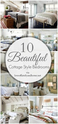 10 Cottage Style Bedrooms...Makeover Inspiration - Love of ...