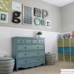 Feature Wall Paint Ideas For Living Room Rooms With Light Grey Couches Home Tour - Love Of Family &