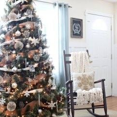 Nursery Rocking Chair Walmart Patio Chairs Uk Neutral, Rustic, Glam Christmas Tree | Love Of Family & Home Bloglovin'