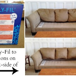 Replacement Sofa Cushions Laura Ashley David Flannel Easy Inexpensive Saggy Couch Solutions Love Take That Old Worn Out Make It Look New Again An