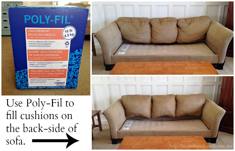 diy sofa repair sack sectional easy inexpensive saggy couch solutions love take that old worn out make it look new again an