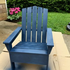 Paint For Adirondack Chairs Painting Plastic Lawn Spray Painted Chair Love Of Family Home 5