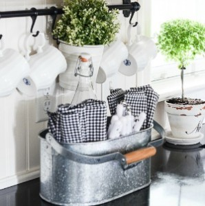 10 MINUTE DECOR-loving your kitchen-button 1-stonegableblogcom