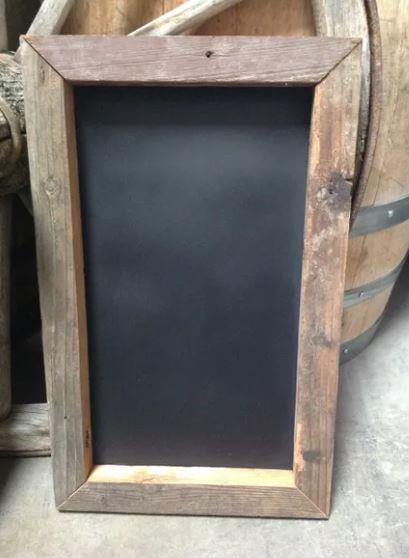 chalkboards blank vint wood
