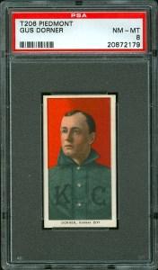 1909 T206 Dorner Front