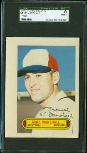 1973 Topps Pinup Marshall Front