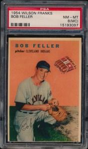1954 Wilson Feller Front