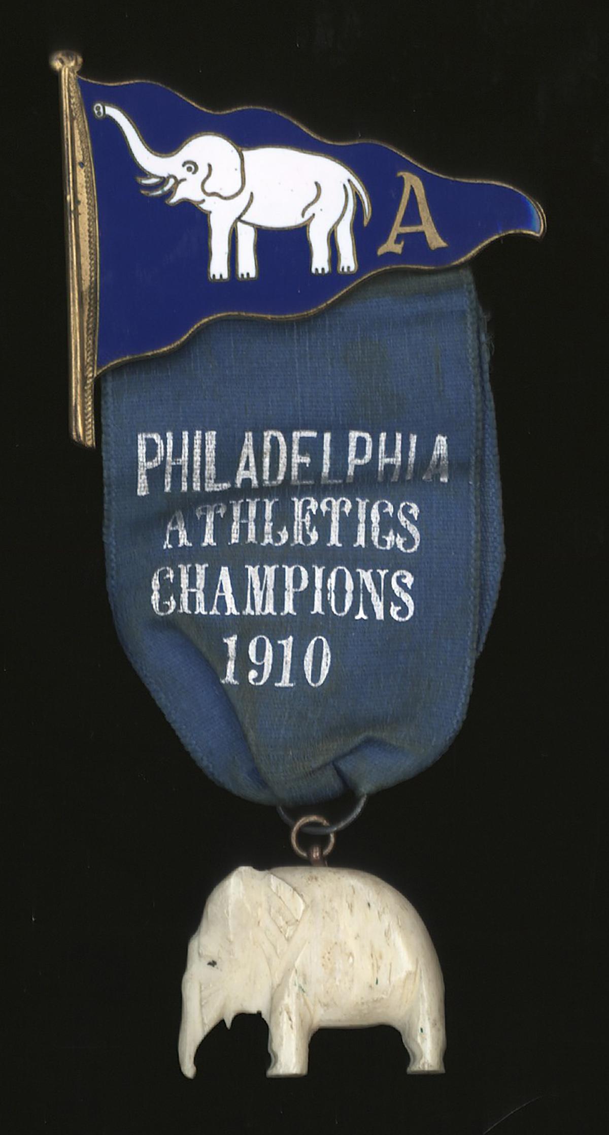 1910 Athletics Pin Front