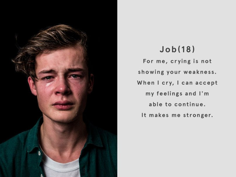 what real men cry