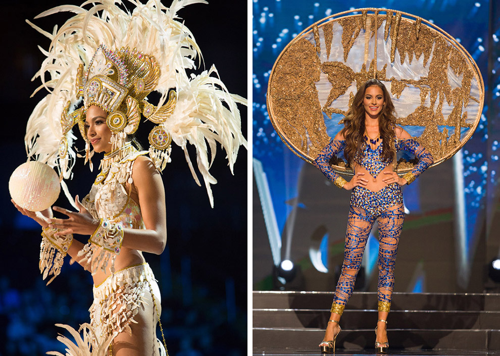 Самые необычные костюмы Мисс Вселенная 2017